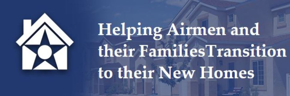 Helping Airmen and their Families Transition to their New Homes graphic