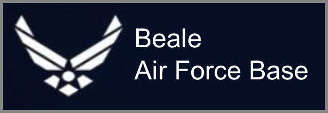 Beale Air Force base graphic