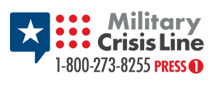 Military Crisis Line Banner
